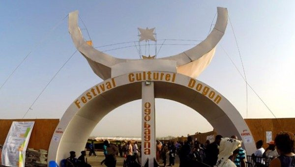 Atlantis mali festival dogon devanture