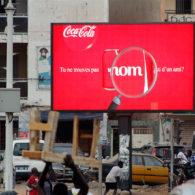 ecran rond point Castor Dakar