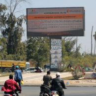 L'écran Rond-point Cambérène